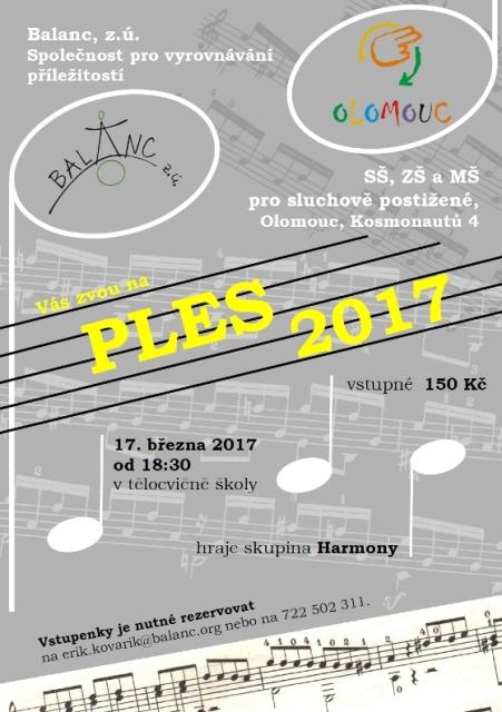 plakát ples 2017 na web